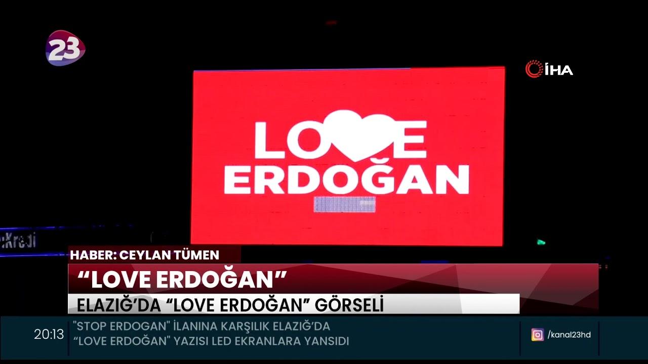 """""""LOVE ERDOĞAN"""""""