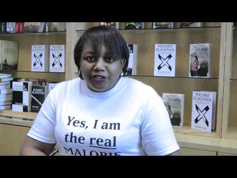 Malorie Blackman talks about writing culturally diverse books