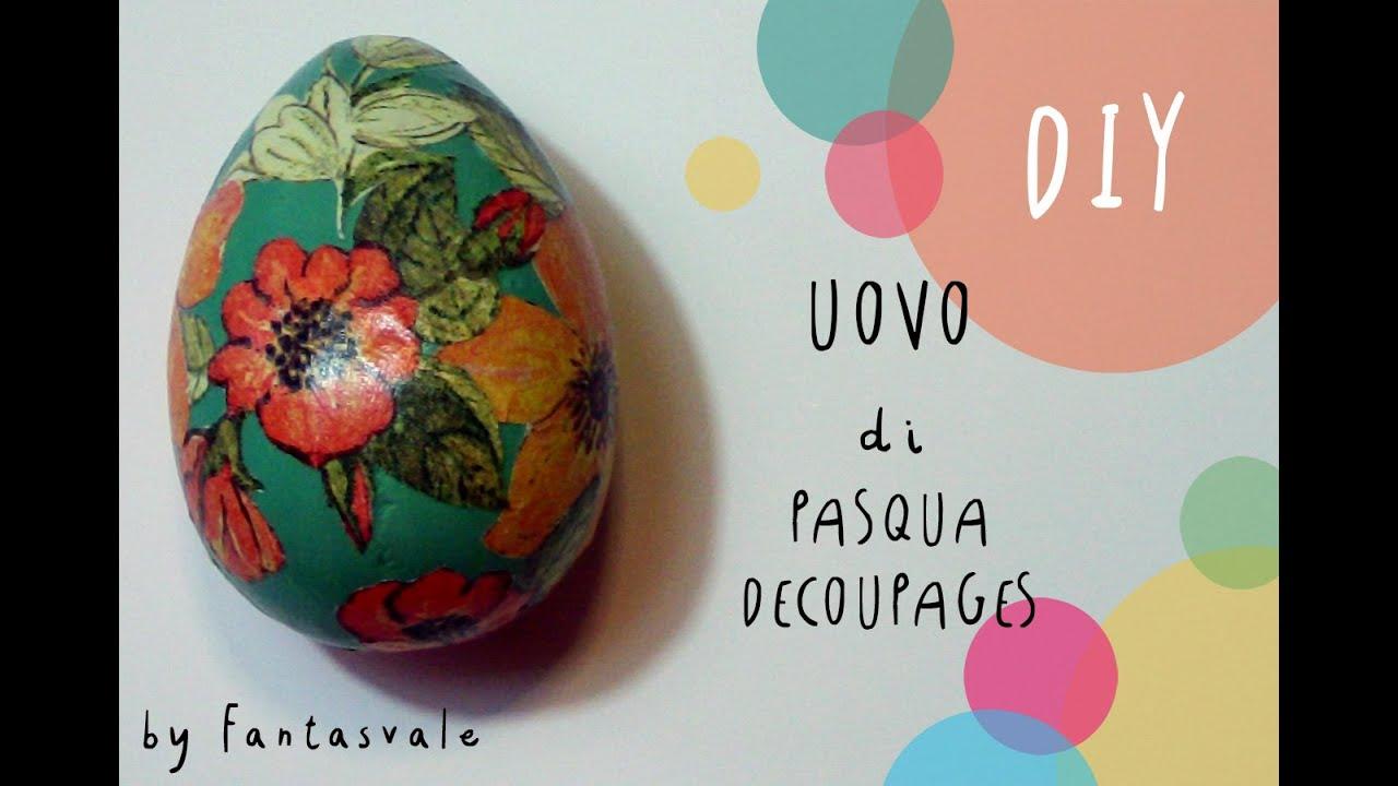 Pasqua Fai Da Te Come Fare Uova Di Gesso Decoupages Facile By