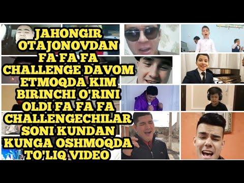 Jahongir Otajonovdan Fa Fa Fa Challenge Davom Etmoqda Жахонгир Отажоновдан фа фа фа челендж давоми