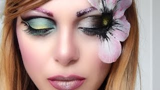 ♡PRETTY FLOWER♡(make up tutorial) | ♡ Pretty Flower ♡