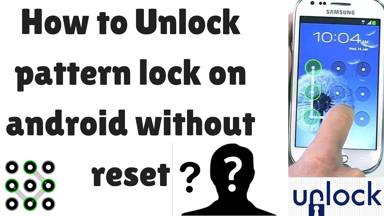 Forgot Unlock Pattern Simple Inspiration