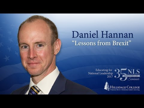 """""""Lessons from Brexit"""" - Daniel Hannan"""