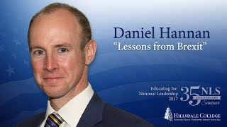 """Lessons from Brexit"" - Daniel Hannan"