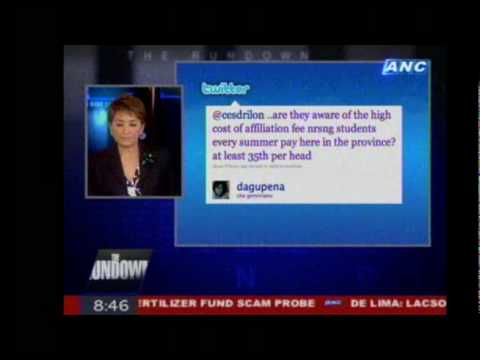 THE RUNDOWN tackles the nursing crisis, July 8, 2010 (Part 3 of 3)