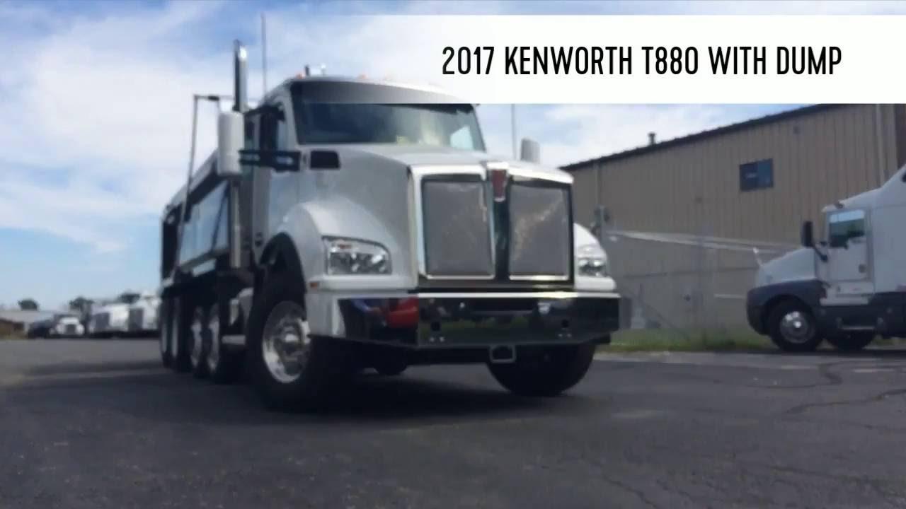 medium resolution of 2017 kenworth t880 dump truck hd