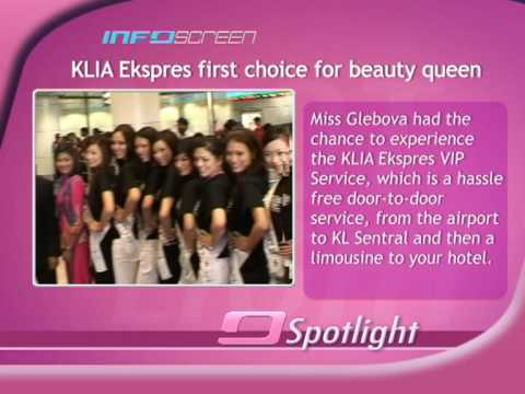 KLIA Ekspres first choice for beauty queen
