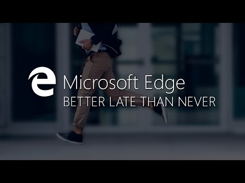 MICROSOFT EDGE Extensions – Better Late Than Never