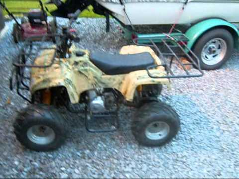 110cc atv project part 2 110cc atv project part 2