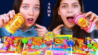 ASMR MOST POPULAR FOOD CHUPA CHUPS (CANDY POP, GUMMY STICKS, CHOCOLATE BALLS, DRINKS) 먹방