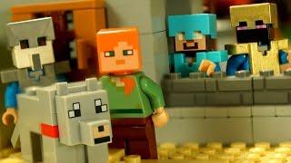 Lego Minecraft Survival 7 - Мультики Лего Майнкрафт на русском для Детей. Херобрин. Выживание