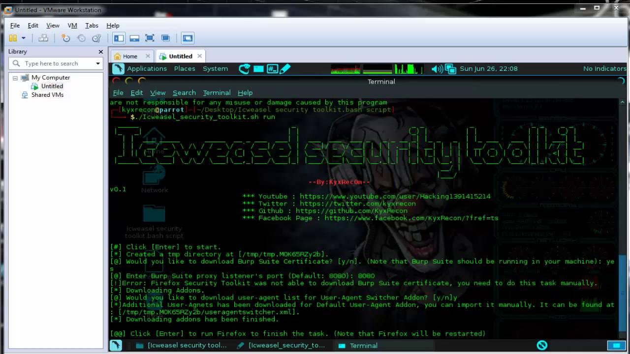 kyxhack blogspot com: Iceweasel Security Toolkit