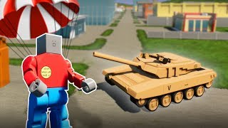 LEGO BATTLE ROYALE WITH TANKS! - Brick Rigs Multiplayer Gameplay -  City Tank Battle!