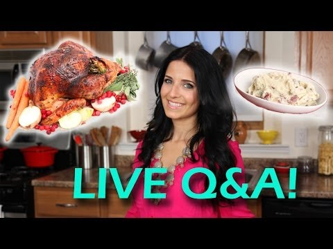 Thanksgiving (was) Live Q&A With Laura Vitale!