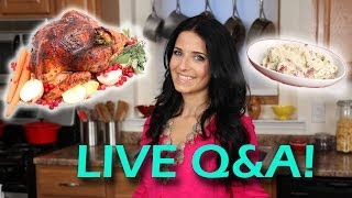 Thanksgiving (was) Live Q&A With Laura Vitale! thumbnail