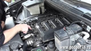 Ремонт Х5 замена клапана регулировки давления в топливной рампе.(, 2015-06-26T20:29:07.000Z)