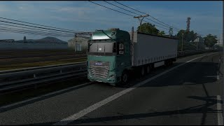 Please Subscribe For More Videos   Details & Download From http://www.modhub.us/euro-truck-simulator-2-mods/daf-xf-euro-6-3-5/      Mod replaces the default Daf XF Euro 6! – Make a real highlight the instrument panel and buttons – Added decal on side windows – 2 side cockpit panel (plastic and paint) – Front mud flaps – Added animation emergency gang buttons and lifting axle – 2 types of front headlights with DRL without DRL – Fog lights are included with low beam  Version 3.5: – The mod is adapted to patch version 1.38  Supported versions of the game: 1.38.x + DLC DAF Tuning Pack + DLC Cabin Accessories  Allow copy on another forum but keep orginal download link and author! Do not reupload!   Before installing the mod must sell the old truck!   Credit   SCS, Schumi, Sogard3, Oscar, abalazs, piva, Ohaha