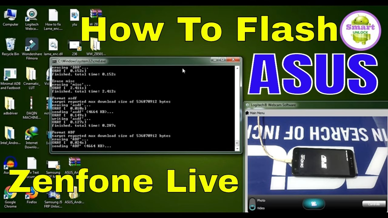 HOW TO FLASH ASUS ZENFONE LIVE ? ASUS ZENFONE ME SOFTWARE KAISE INSTALL KARE