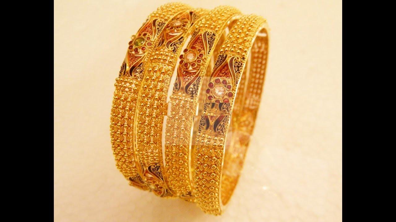 Trendy Kundan Broad Bangles || Trendy Kundan Broad Bangles designs ...