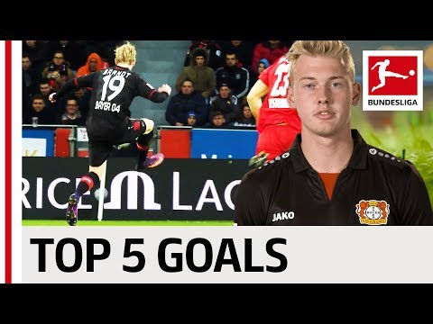 Julian Brandt - Top 5 Goals - The German Wunderkind