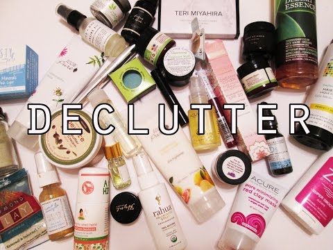 Disappointing Green Beauty Products and Declutter