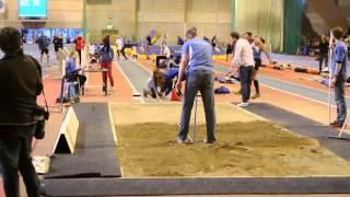 Mattias Sunneborn världsrekord M40 längd