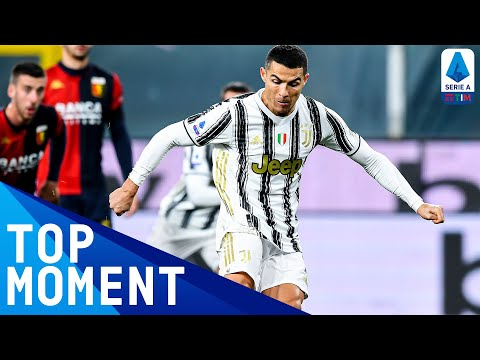 Ronaldo scores in his 100th Juve match! | Genoa 1-3 Juventus | Top Moment | Serie A TIM