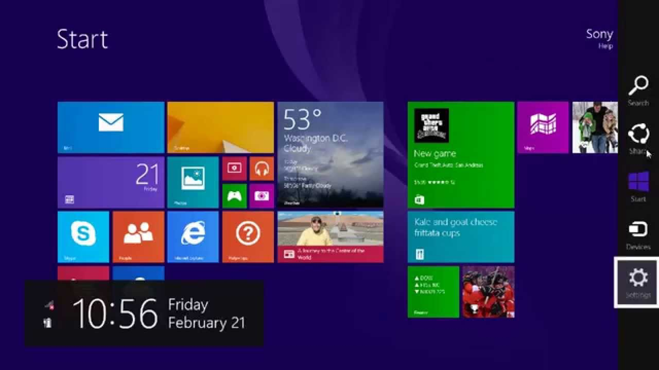 Adjusting The Automatic Brightness On Your Windows 8 1