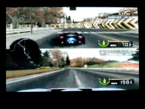 Need For Speed Most Wanted Split Screen Gamplay Youtube