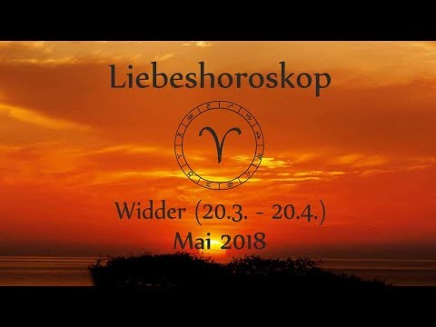 horoskop sternzeichen widder liebe und leben im mai 2018 youtube. Black Bedroom Furniture Sets. Home Design Ideas