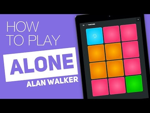 Thumbnail: How to play: ALONE (Alan Walker) - SUPER PADS - Together Kit