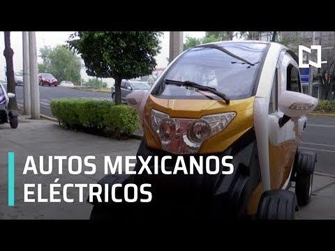 Mexicanos creadores de un auto eléctrico - Expreso de la Mañana