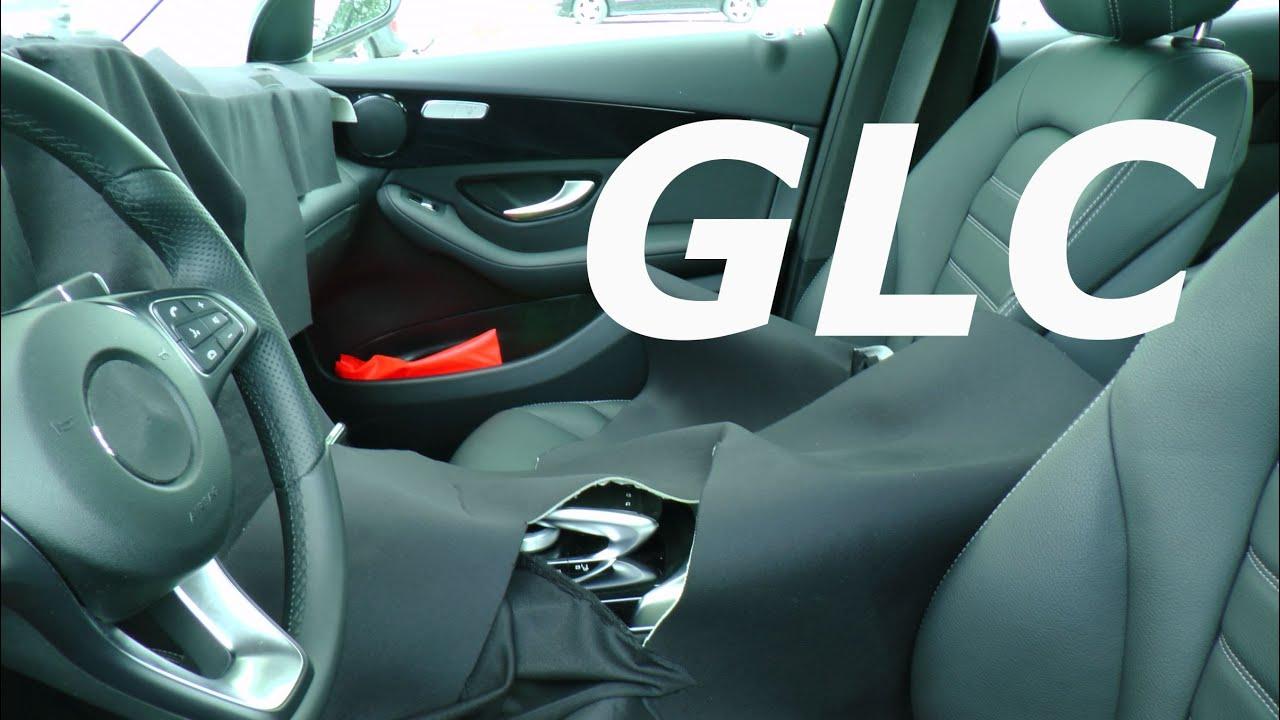 INTERIOR design - Innendesign Erlkönig Mercedes GLC 2015 (GLK) X253 ...