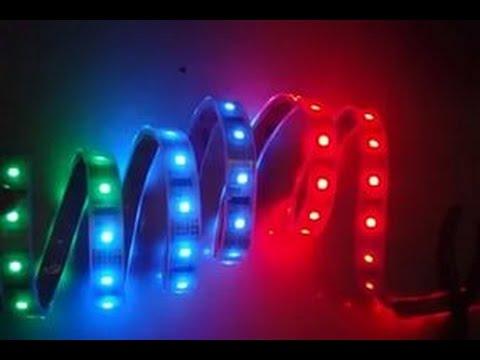 Видео Светодиодная подсветка приборной панели своими руками