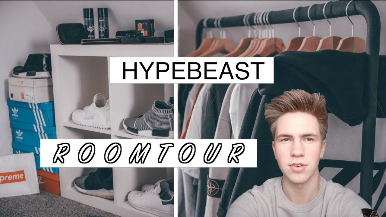 Hypebeast Roomtour | Ich zeige euch mein Zimmer (Gucci, Off-White ...