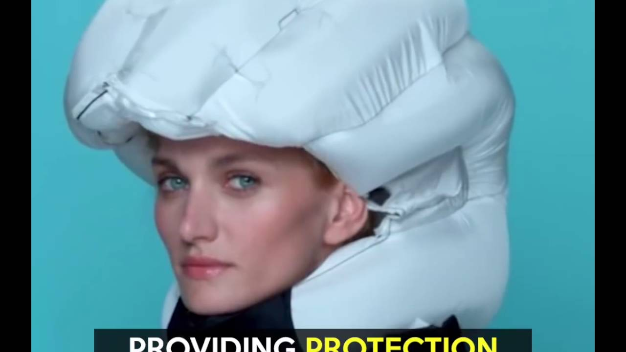 802d4f98c71 Airbag for Cyclists - Hovding - YouTube