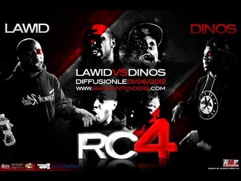 Rap Contenders - Edition 4 - Dinos vs Lawid