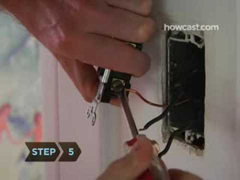 How to Install a Dimmer Switch - YouTube