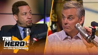Chris Broussard thinks Lakers will land Kawhi, breaks down the Super Team era | NBA | THE HERD