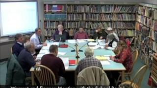 Warrant and Finance - School Budget - 02-14-2011