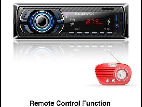 Car In Dash Radio ??? I don't Think So!!! Radio Player Bluetooth MP3/USB/SD/AUX-IN/FM