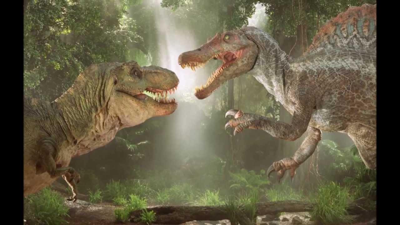 Megalodon vs T-rex HD - YouTube