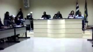 Sessão polêmica na Câmara de Vereadores de Biritinga