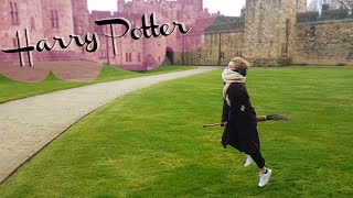 """Follow me around: PLAYING QUIDDITCH"" 