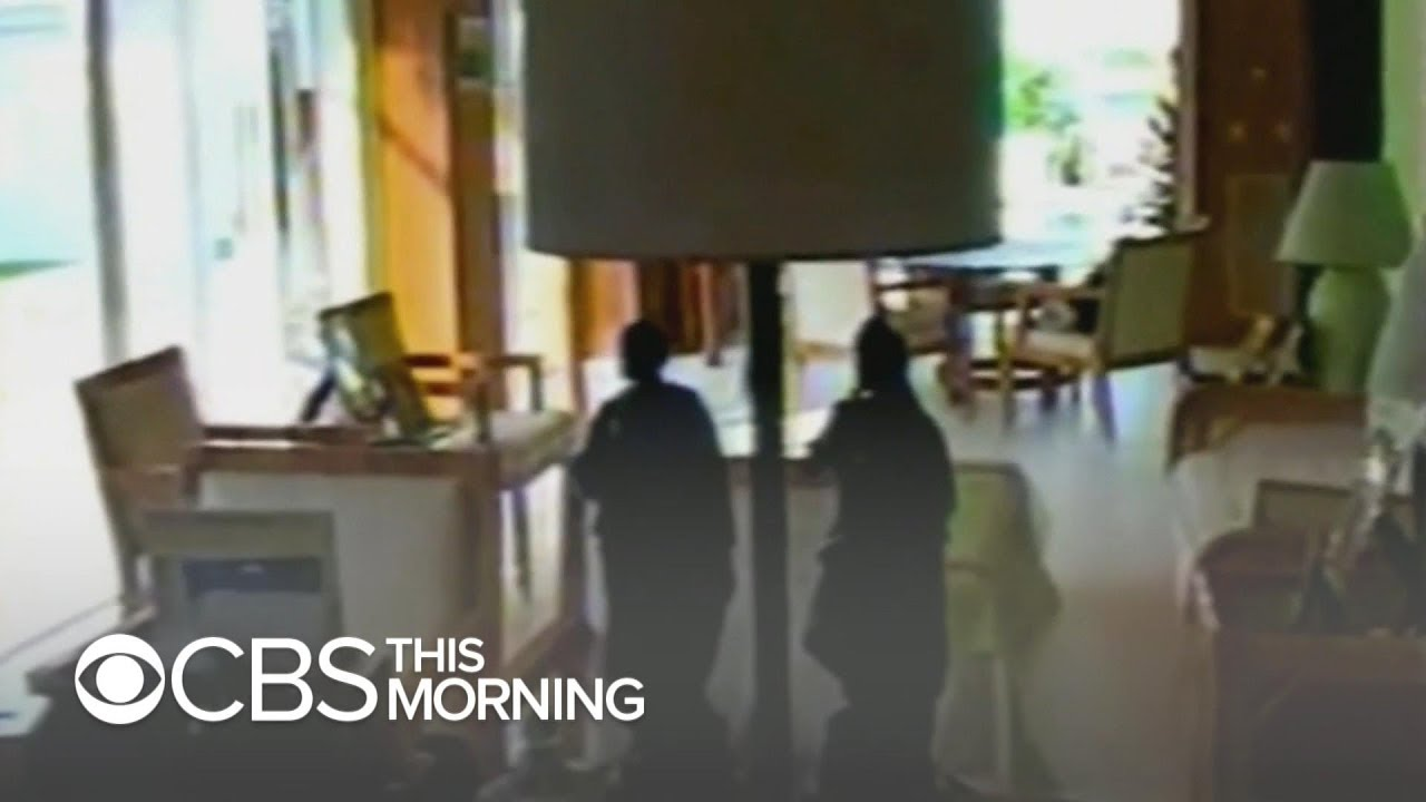 New video goes inside Jeffrey Epstein's Florida mansion