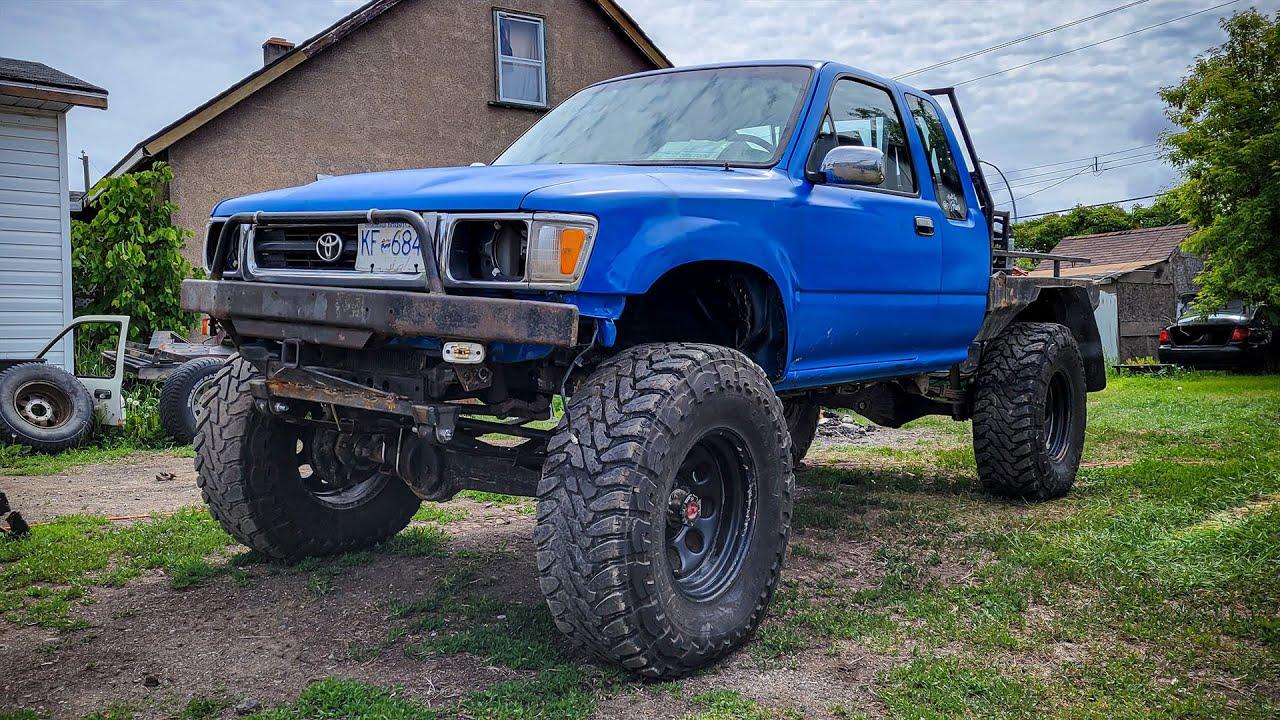 Toyota Solid Axle Swap | 2RZ First Start | 1993 Pickup 4x4