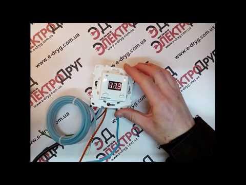 Терморегулятор Terneo AX Wi Fi. Обзор. Подключение и проверка