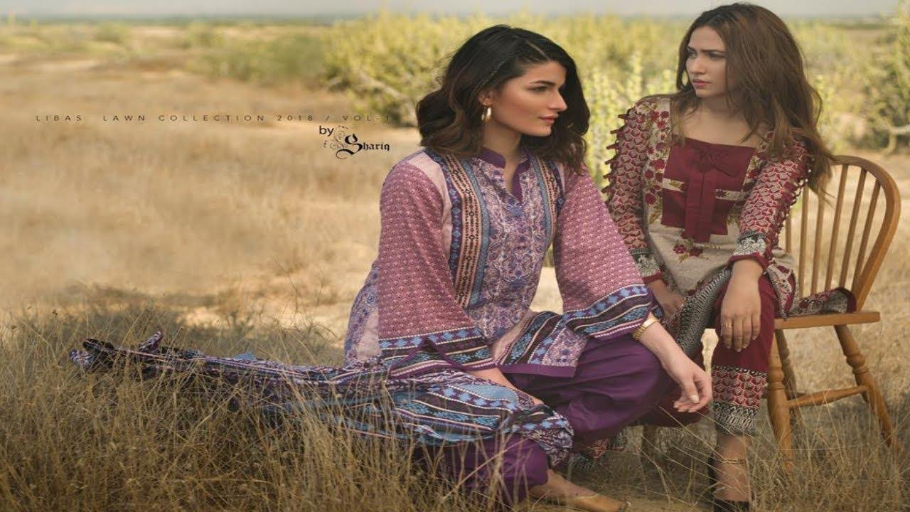 852a587a8b Latest Shariq Textiles Libas Lawn Summer Vol 1 Collection 2018 For Women