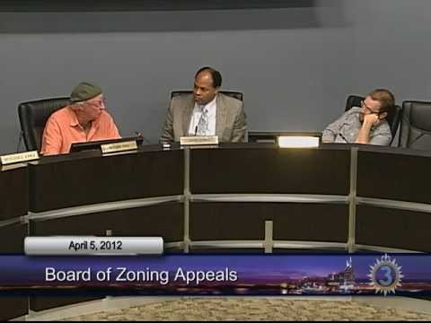 04/05/12 Board of Zoning Appeals Meeting