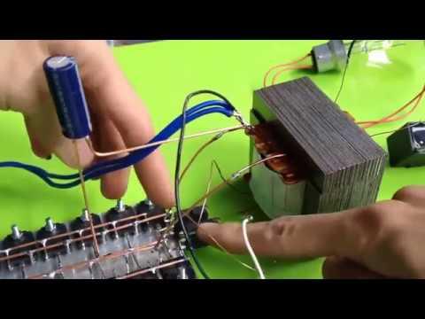Setrum Ikan Menggunakan Transistor D718 Youtube Youtube